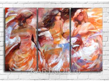 Женские фигуры живопись 2